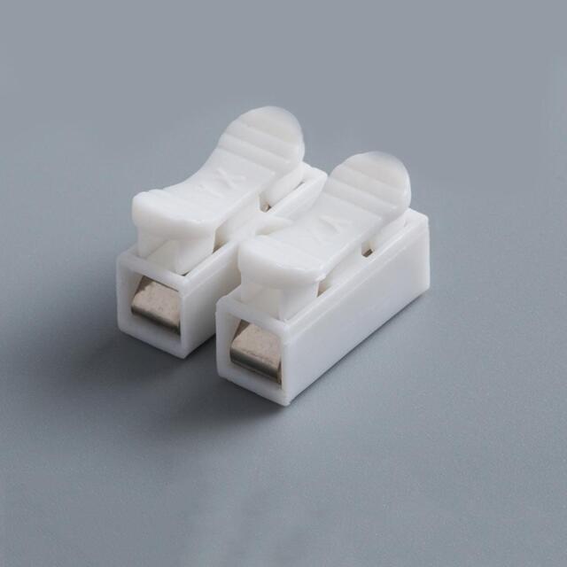50pcs Electrical Cable Connectors Quick Splice Lock Wire Terminals ...