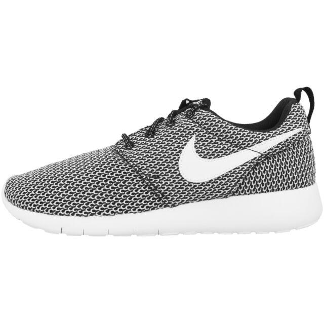 Nike Roshe UNA Gs Scarpe da corsa RosheOne BLACK ROSHERUN 599728040