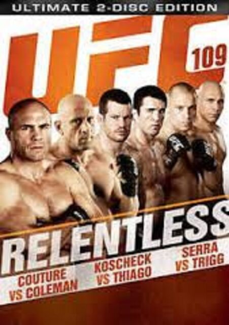 UFC 109: Relentless [2-DISC]