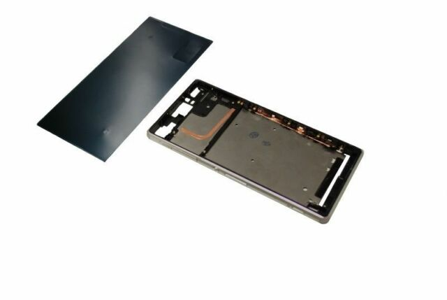 Sony Xperia Z3 D6603 Front LCD Display Rahmen Frame Cover kleber 3M glue white