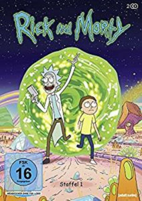 Rick & Morty Staffel 1 NEU OVP 2 DVDs (and,und)