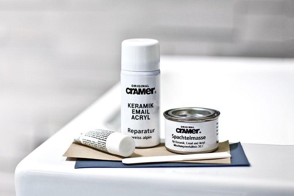 Cramer Kit Riparazione Bianco/alpino vasca da bagno vano doccia ...