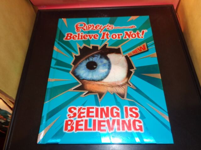 Ripley's Believe It Or Not NEW Annual Seeing Is Believing NEW Hardcover Book
