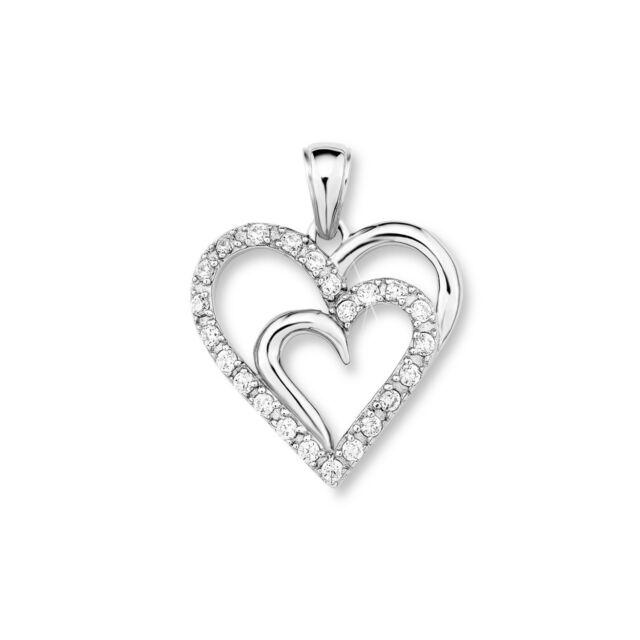 amor Anhänger Herz Silber 925