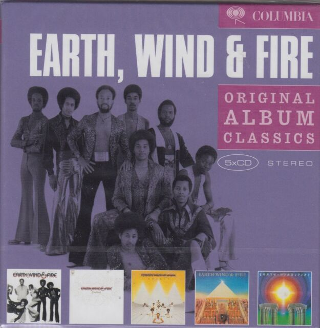 Earth, Wind & Fire / Gratitude, Spirit, Allin All,, I Am u.a. (5 CDs, OVP)