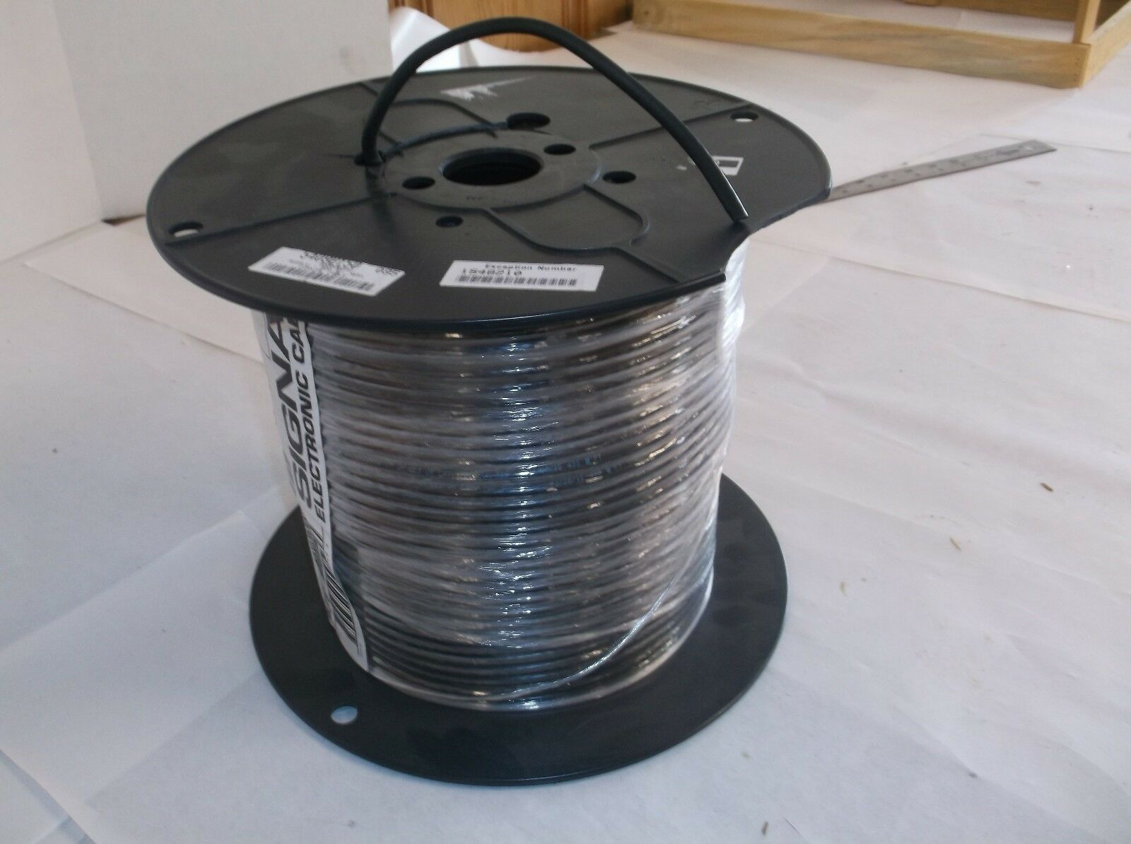 500ft Rg59/u 22/1 BLK Coax CBL Coleman Cable Inc. TV Wire/cable ...