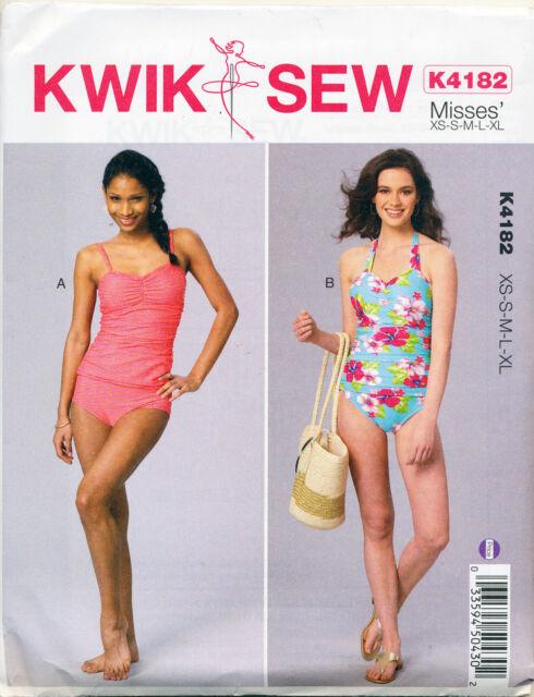 Kwik Sew Sewing Pattern K4182 4182 Misses\' Swimsuits Xs-xl   eBay
