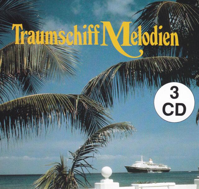 ORCHESTER CHARLES MONET - 3 CD - TRAUMSCHIFFMELODIEN