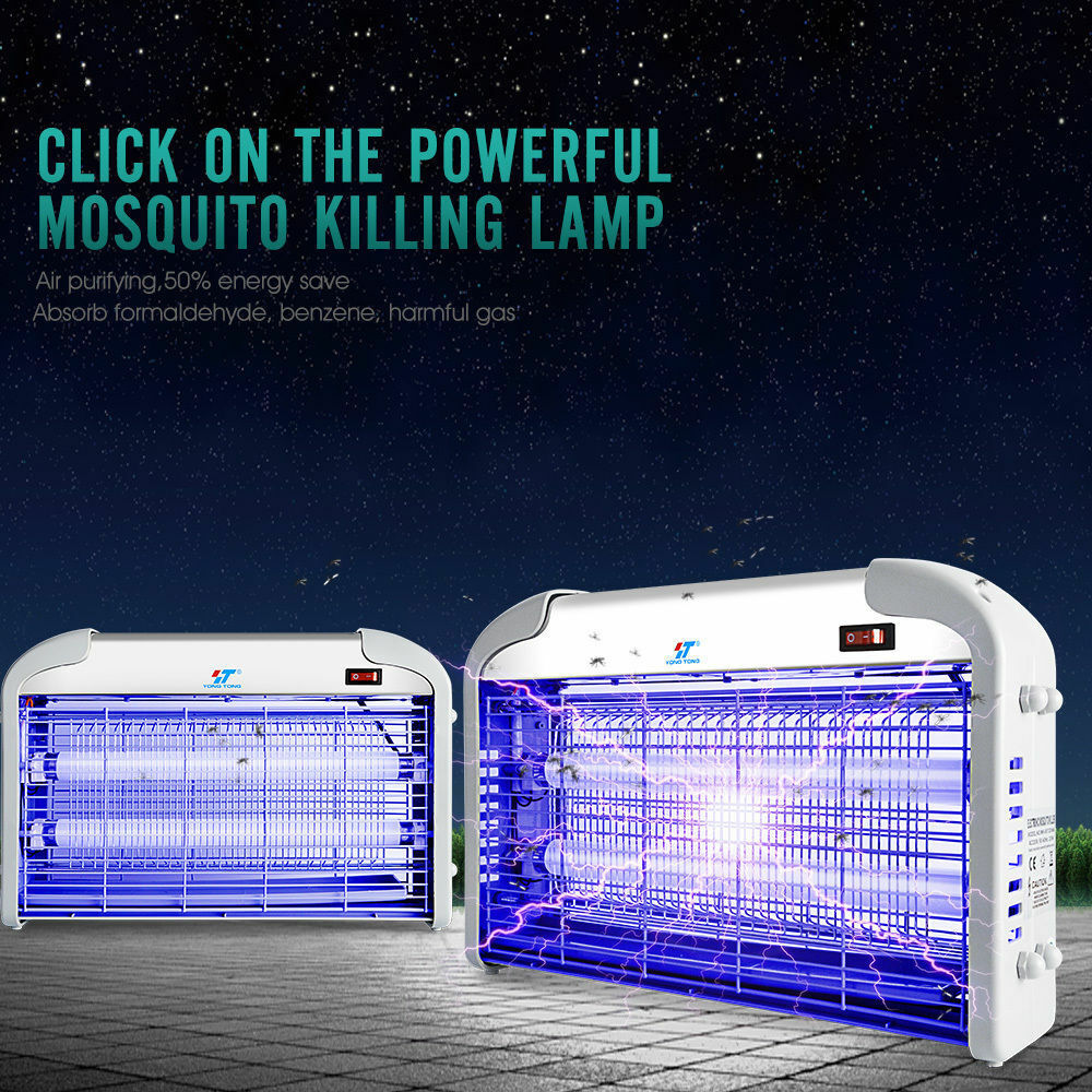 30w Electric Mosquito Killer Fly Bugs Insects Zapper Trap Uv Lamp Bugzapper1 Circuit Schematic Diagram Pest Control Ebay