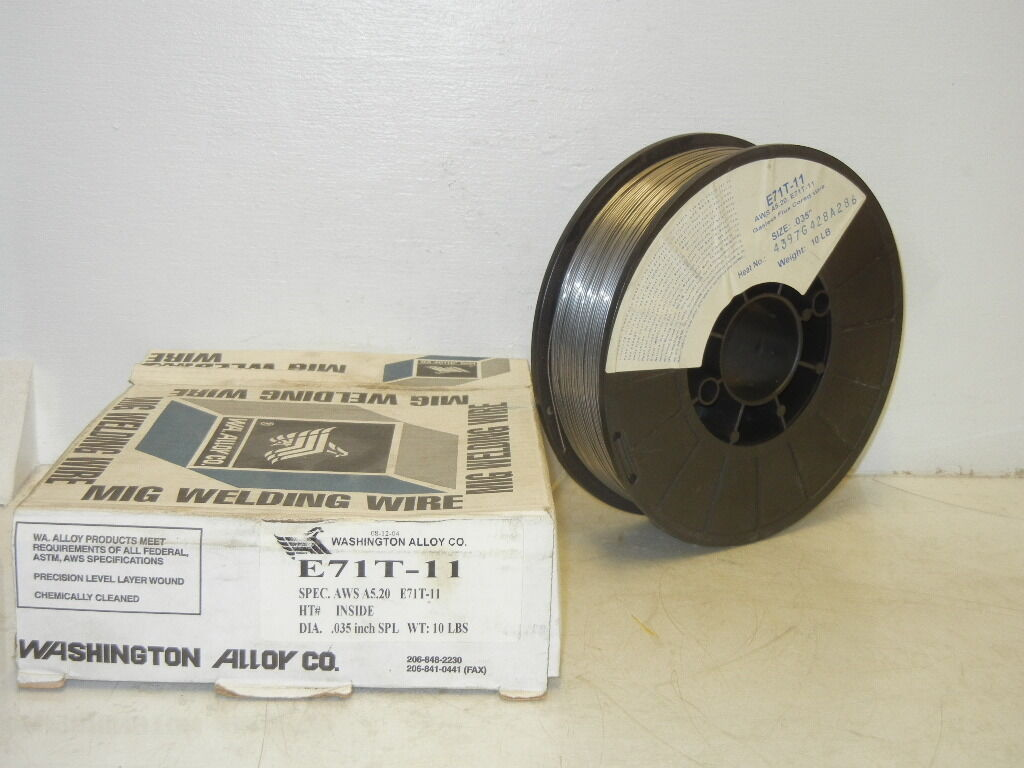 Washington Alloy Co. E71t-11 10 Lbs .035 Inch MIG Welding Wire ...
