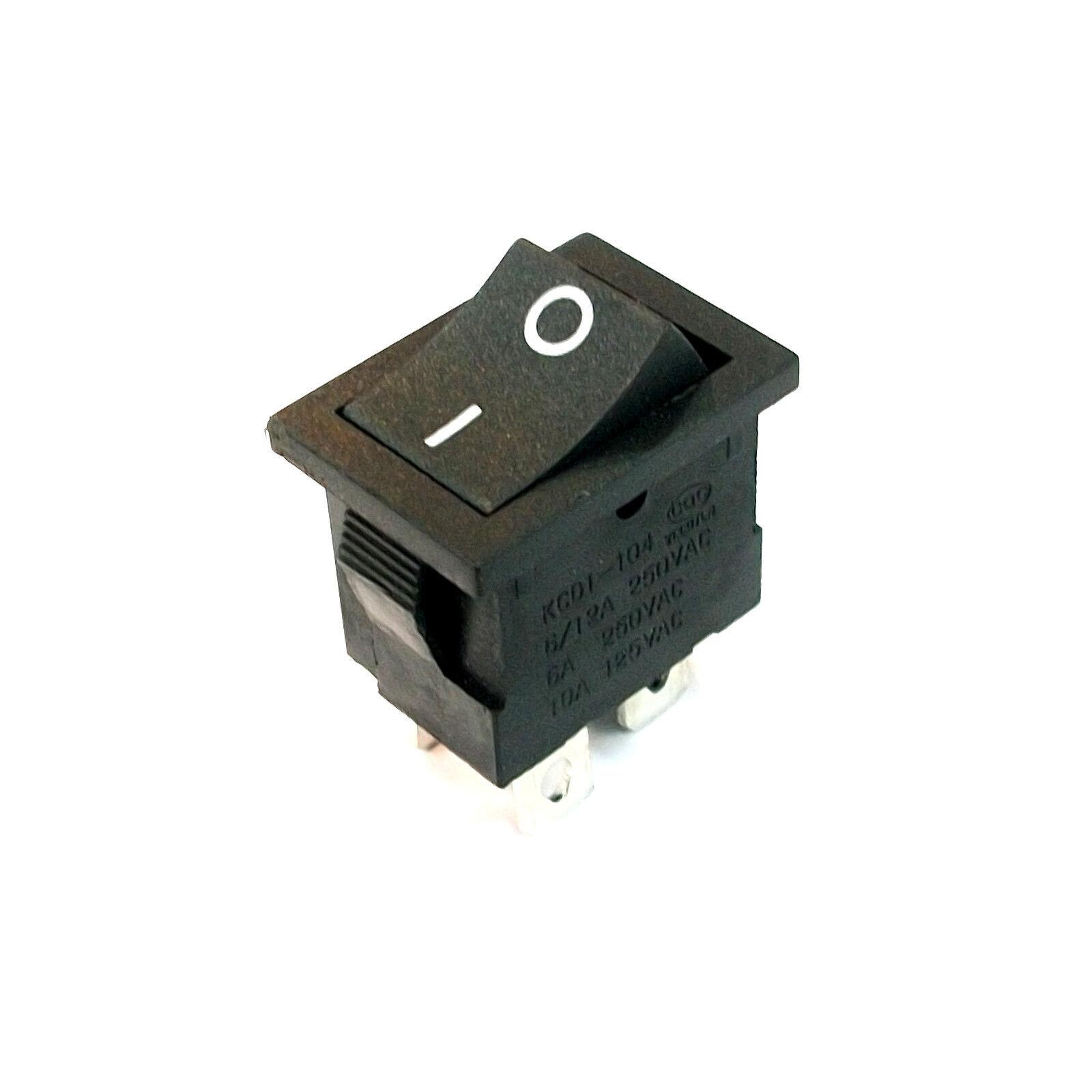 1 X 21mm 4 Pin DPST On/off Boat Car Rocker Switch Kcd1-104n Black ...