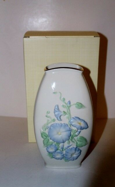 Lenox Morning Glory Vase With Ivory Gold Trim American By Design 7 3