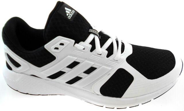 Adidas Duramo 8 m blanco cloudfoam hombres negro / blanco m corriendo zapatos ba8085 3616b7