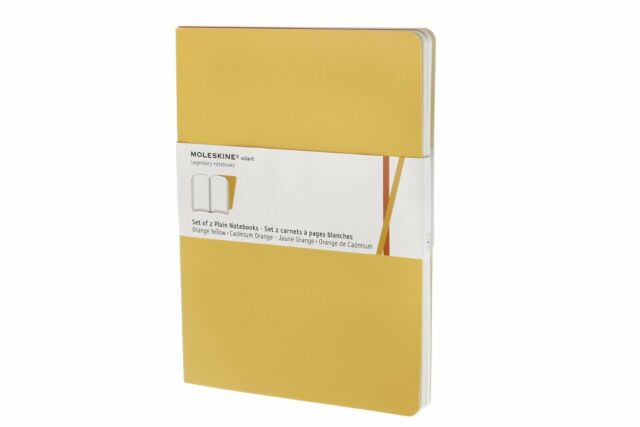Moleskine Volant Extra Large Plain Golden Yellow 2-Set -9788862937948-ML-067