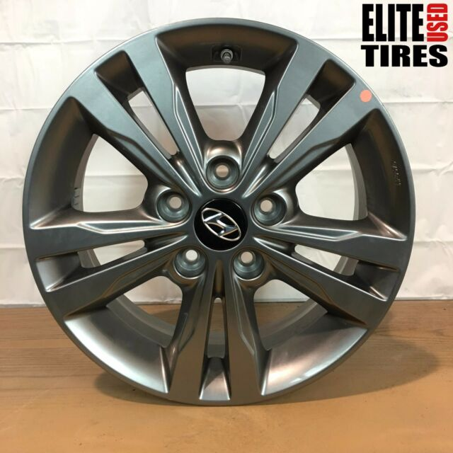 "2016 Hyundai Elantra Value Edition >> 16"" Inch 2017 Hyundai Elantra OEM Factory Original Alloy ..."