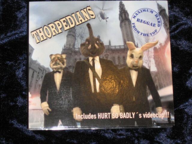 Thorpedians CD Maximum Hard Reggae From The Top 2010 DIGIPACK EX/VG+