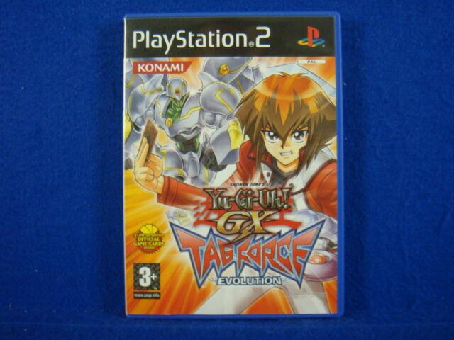 *ps2 YU-GI-OH! GX Tag Force Evolution (NI) Yugioh Playstation PAL UK Version