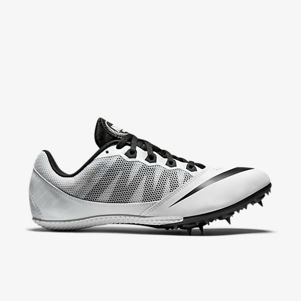 New Nike Zoom Rival S 7 Mens 10 Track Spikes Sprint Racing Shoes Cleats White
