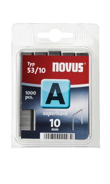 Novus Tacker klammer A Typ 53/10mm V2a Edelstahl 042-0458   eBay