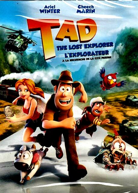 Image result for tad the lost explorer dvd
