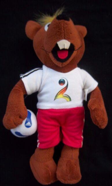 Orig.Maskottchen    HANDBALL Weltmeisterschaft Deutschland 2007  !!  RARITÄT