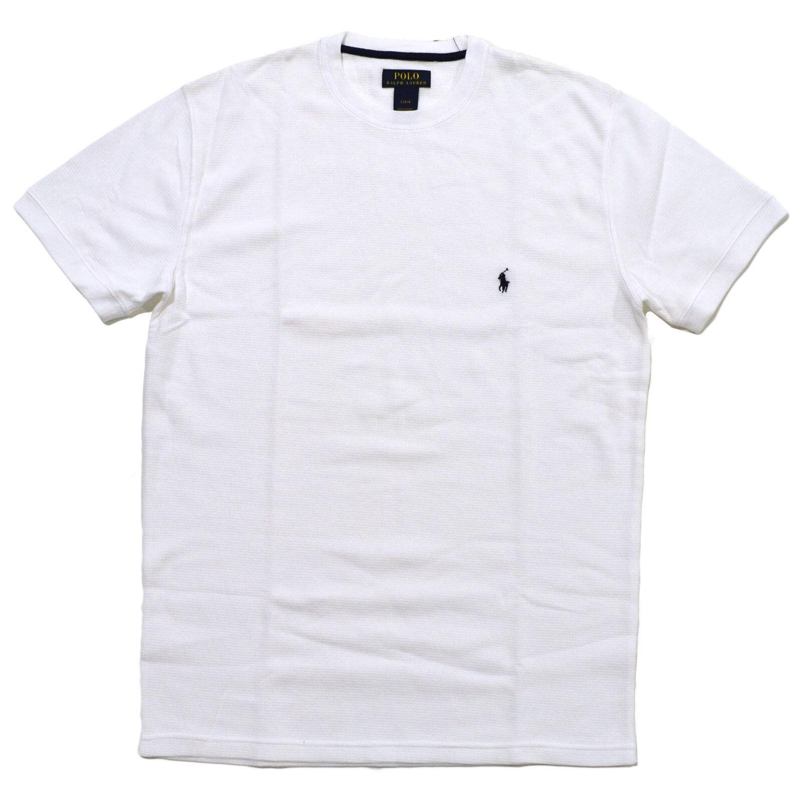 a98faca360 ... best price polo ralph lauren mens thermal tee short sleeve sleep t shirt  top d3ac6 d50b7