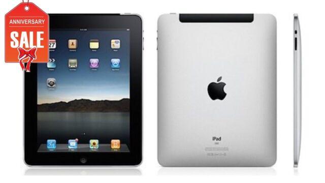 Apple iPad 1st Generation 16GB, Wi-Fi + 3G (Unlocked), 9.7in - Black (R-D)