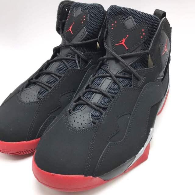 on sale 25ecb 5f08c ... White Black Nike Jordan True Flight Mens Basketball Black Gym Red Met  Silver 342964-001 ...