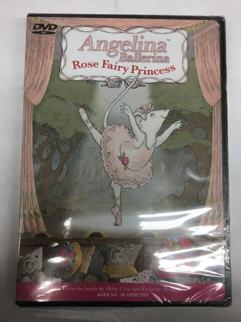 Angelina Ballerina - Rose Fairy Princess New DVD