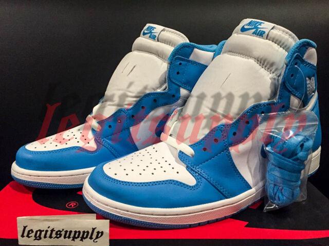 Air Jordan 1 Og Rétro Haute Unc Acheter Ebay