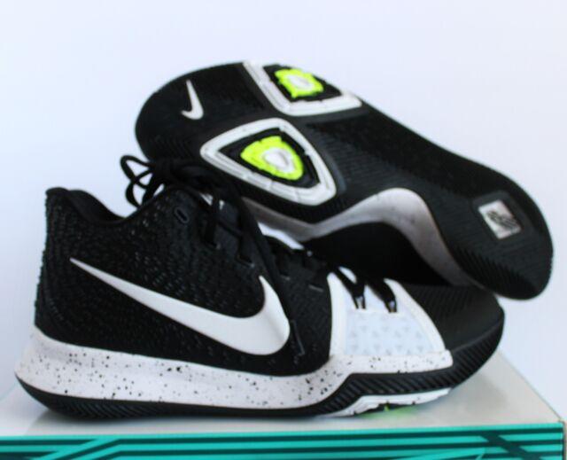 Nike Kyrie 3 III Mens Basketball Shoes Size 9.5 Tuxedo Black 917724 001