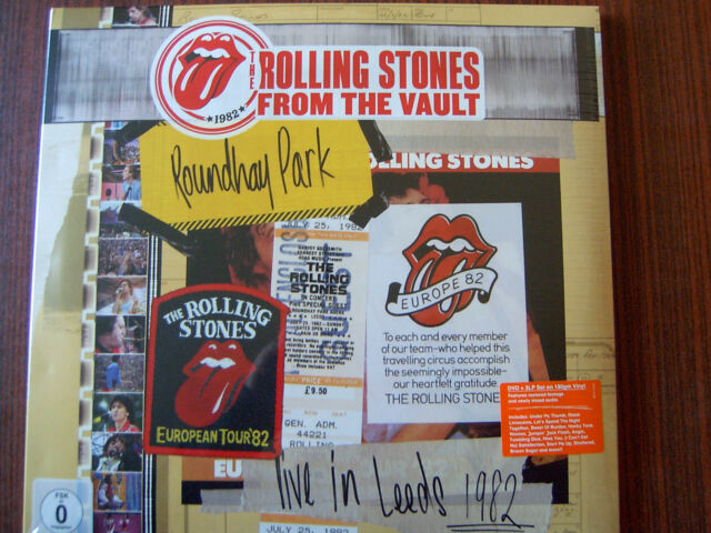 The Rolling Stones - From The Vault: Live in Leeds 1982 3x LP+DVD