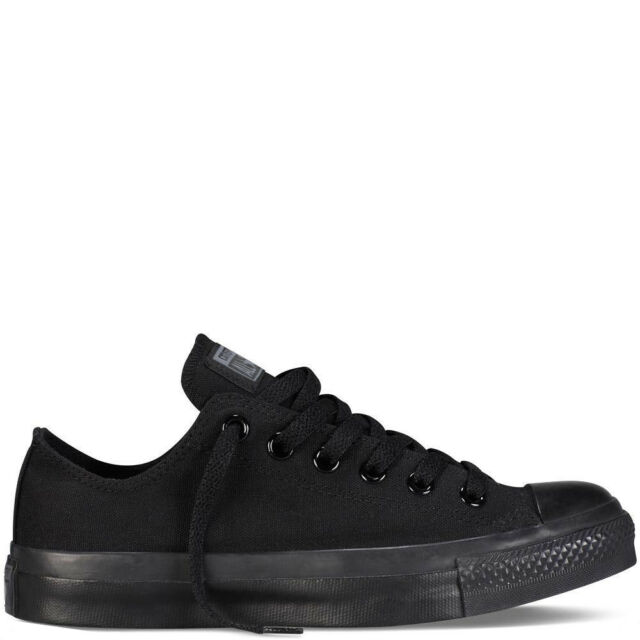 Converse Chuck Taylor All Star Ox Scarpe Black Monochrome m5039c Sneaker Chucks