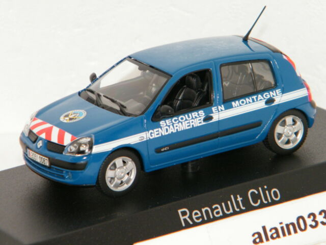 RENAULT CLIO 2003 Gendarmerie Secours en Montagne NOREV 1/43 Ref 517513