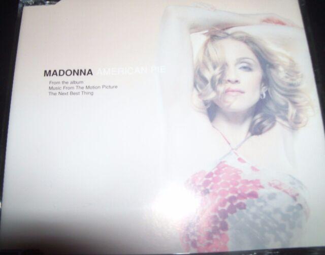 Madonna American Pie Australian Victor Calderone Remixes CD - Like New