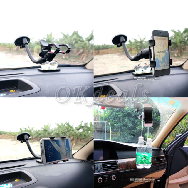 New Universal 360° Rotating Car Windshield Mount Holder Stand for Mobile phones