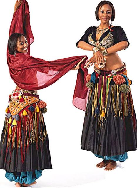 Folkwear 144 Tribal Style Belly Dancer Costume Pattern FF | eBay