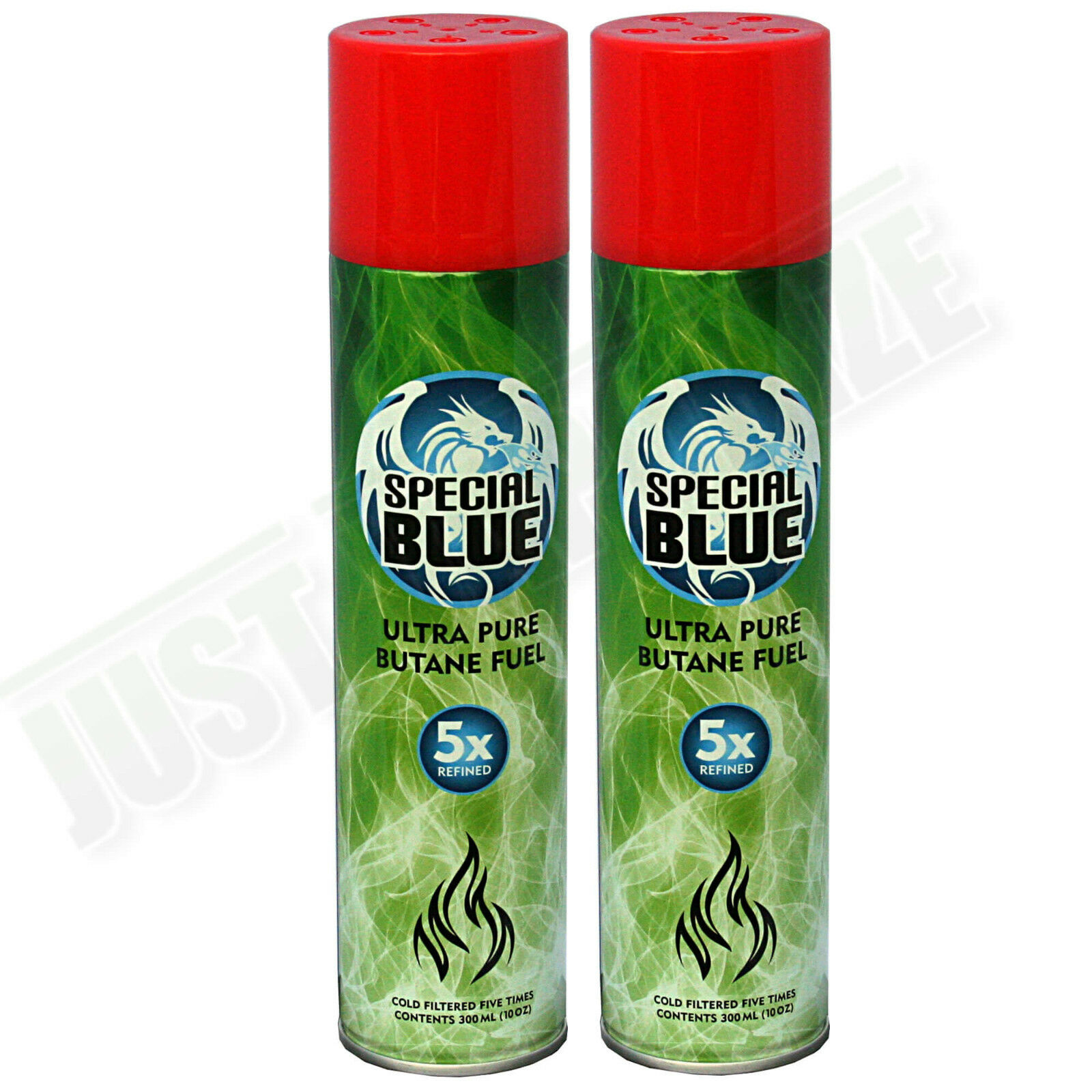 2x Special Blue 5x Refined Butane Gas Extra Purified Fuel Torch ... for Torch Lighter Refill  113lpg