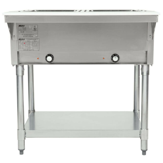 Eagle Group Dht Inch Electric Steam Table Open Well - Eagle group steam table