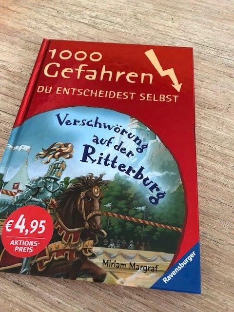 Verschwörung auf der Ritterburg. 1000 Gefahren, Band 16 von Miriam Margraf (2005