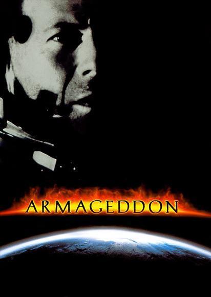 armageddon movie poster 27x40 d erik per sullivan bruce willis ben