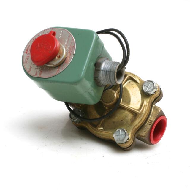 Asco 8210c13 Solenoid Valve 3  4 U0026quot  Pipe 120v Red Hat Switch 8210