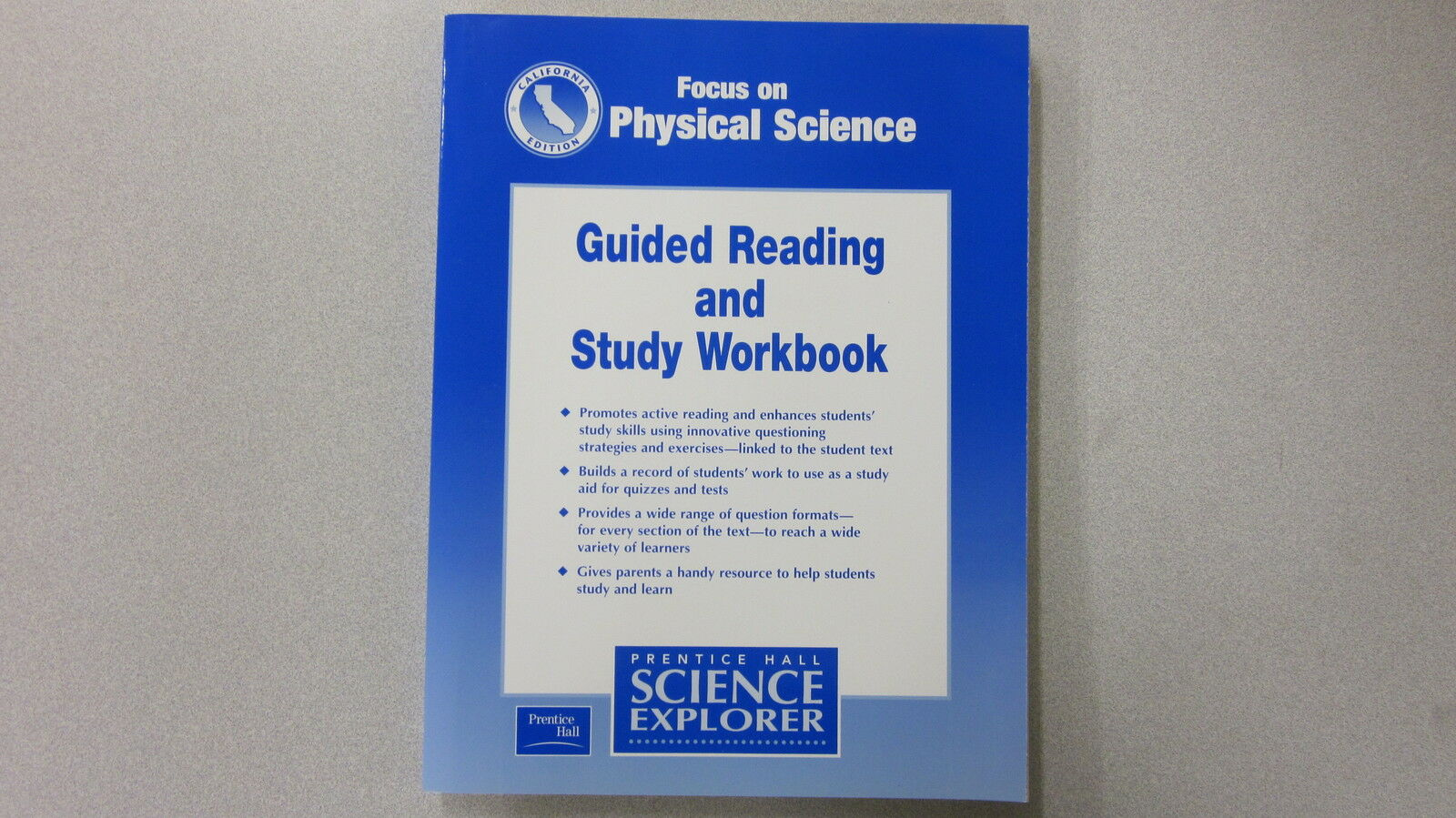Workbooks physical science guided reading and study workbook : Focus on Physical Science Guided Reading and Study Workbook ...