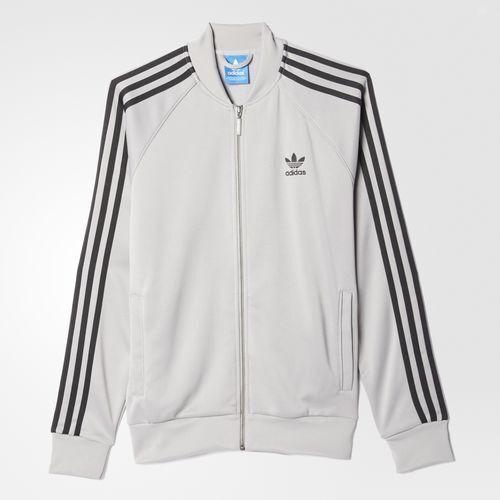 Adidas Superstar Traccia Giacca Bianca OtJmOh