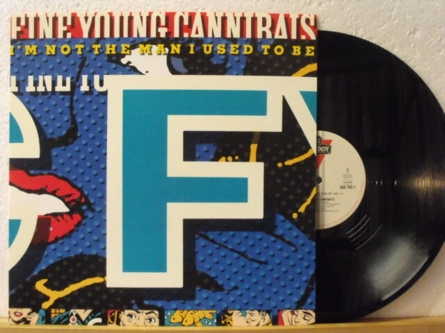 "12"" Maxi - FINE YOUNG CANNIBALS - I´m Not The Man I Used To Be - 12"" Mix - 5:18"