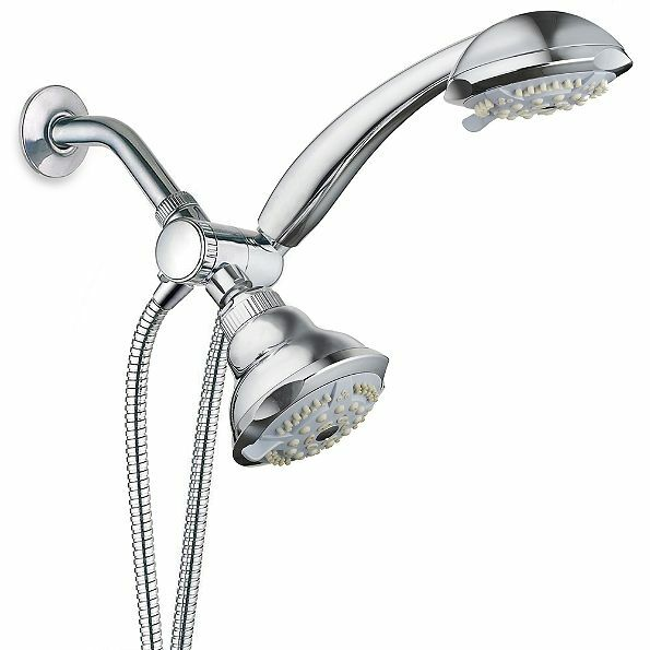 Rain Spa 2 in 1 Chrome Multiple-shower Head Combo 10 Settings ...