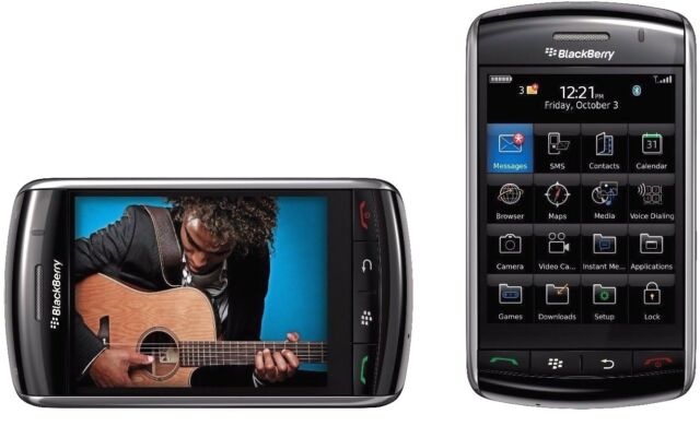 BlackBerry Storm 9500 UNLOCKED QUADBAND CAMERA BLUETOOTH FULL TOUCH GSM CELLPHON
