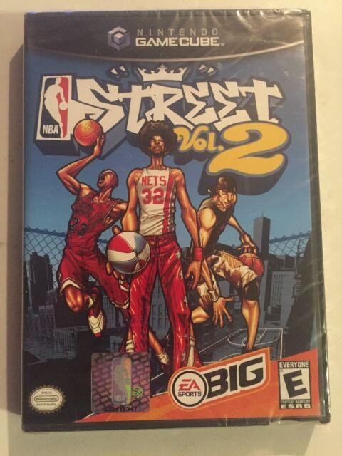 NBA Street Vol. 2 Black Label (Nintendo GameCube, 2003) NEW!!! Unopened