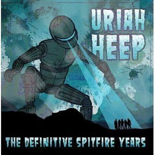 Uriah Heep The Definitive Spitfire Collection CD NEW SEALED Easy Livin'+