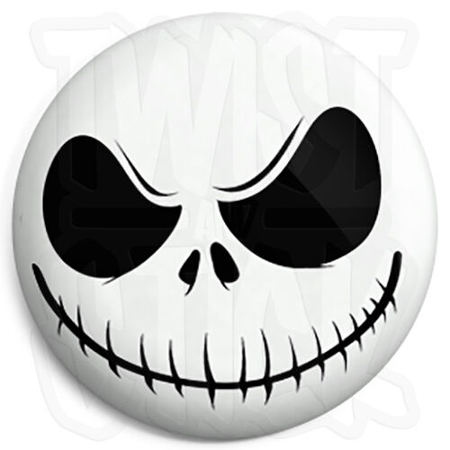 Jack Skellington - 25mm Button Badge - The Nightmare Before Christmas Xmas